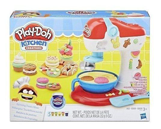 Massa Play Doh Batedeira De Cupcake E0102 Hasbro