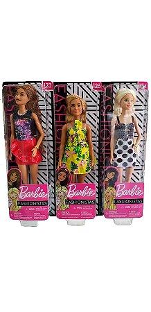 Boneca Barbie Fashionista Sortidas FXL56 Mattel