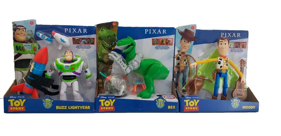 Figura SORTIDA Toy Story Comemorativo 25 Anos GJH46 Mattel