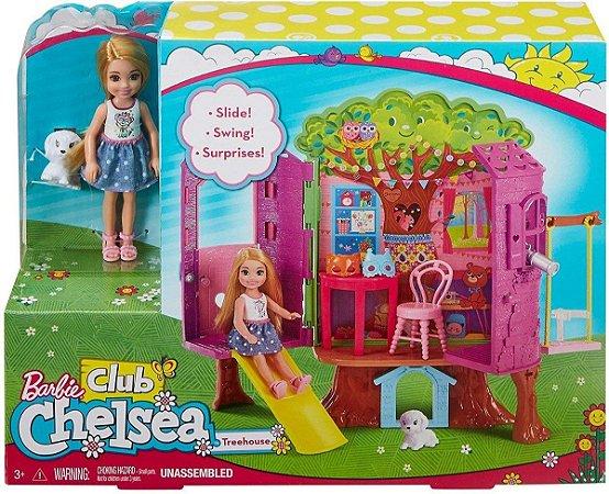 Barbie Casa Da Arvore Club Da Chelsea FPF83 Mattel