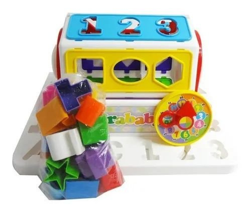 Girababy Brinquedo Giratório Educativo De Encaixar Mercotoys