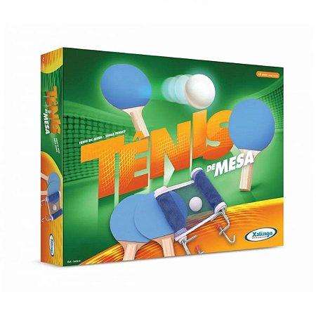 Conjunto Ping Pong Tênis De Mesa - Xalingo