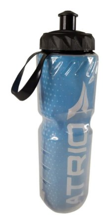 Garrafa Squeeze Para Bike Bicicleta Térmica 650ml Azul Atrio