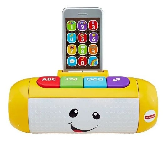 Centro De Atividades Laugh & Learn Auto Falante Fisher Price