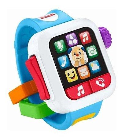 Relógio Educativo Smartwatch GMM55 Fisher Price