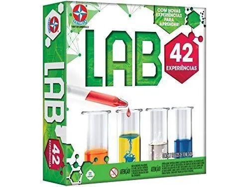 Jogo De Experiências Lab 42 Experiências - Estrela 0022