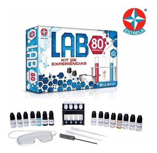 Jogo De Experiências Lab 80 Estrela