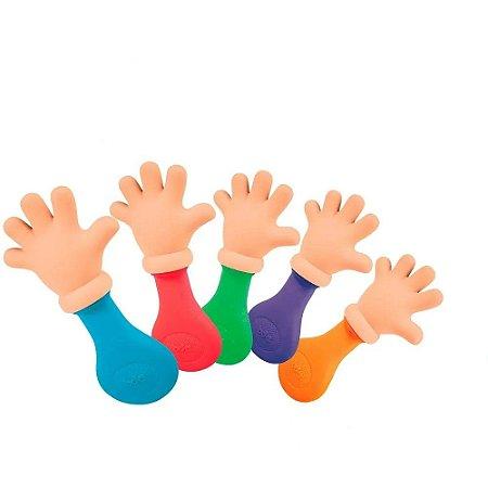 Mordedor Mãozinha Sortido Para Bebê C/chocalho 2287 Toyster