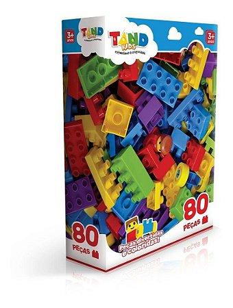 Blocos De Montar Com 80 Peças Tand 2296 Toyster