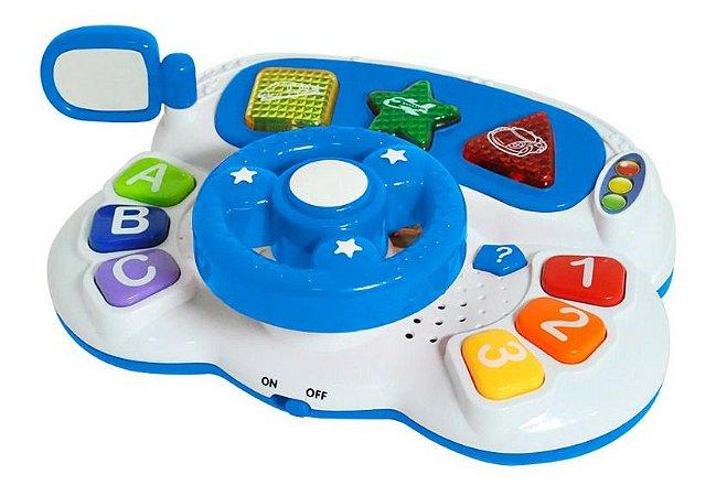 Volante Didático Bibi Gutta Gutti Luz E Som 5809 Dm Toys