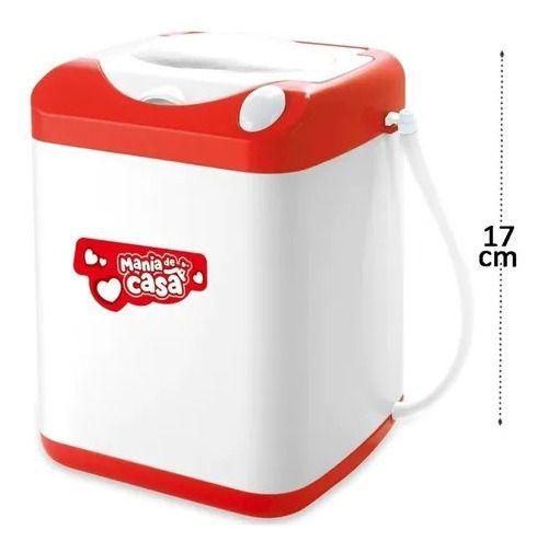 Mania De Casa Maquina De Lavar Infantil 5589 Dm Toys