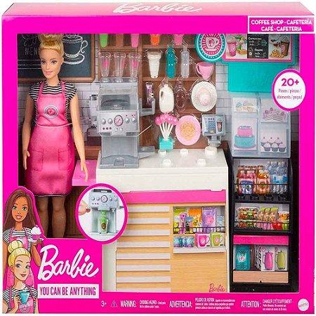 Barbie Cafeteria Maquina De Milk Shake 20 Acessorios Mattel