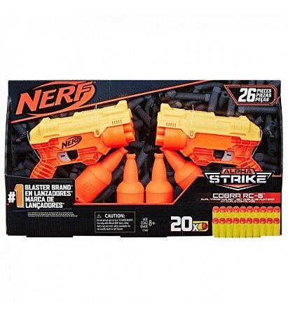 Lançador Nerf Duplo Cobra Dual Target 39653 Hasbro