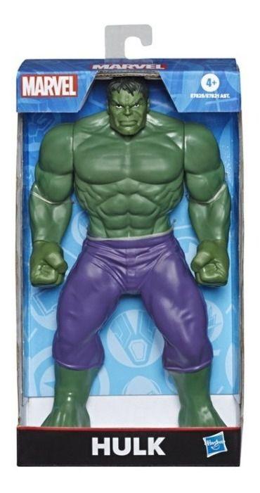 Boneco Hulk 25cm Action Figure Avengers Olympus E7825 Hasbro