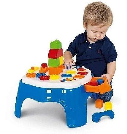 Mesinha Atividades Play Time Para Bebê 1950 Cotiplás