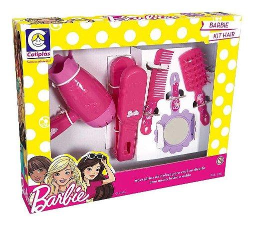 Conjunto Acessórios Barbie Hair Style 2231 Cotiplás