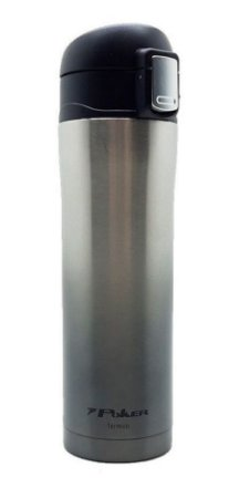 Squeeze Aço Inox Térmico 420ml 09065 Poker