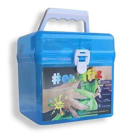 Kit P/Fazer 4 Slimes Fabriquinha De Slime Eu Que Fiz I9