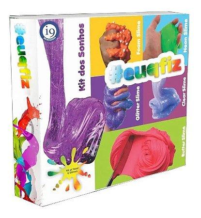Kit P/Fazer 5 Slimes Kit Dos Sonhos Eu Que Fiz I9