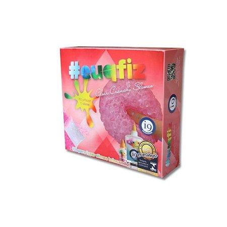 Kit p/ Fazer 01 Slime Clear Crunely I9 Brinquedos