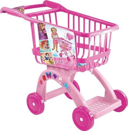 Carrinho De Compras Rosa Princesas Disney 2784 Lider