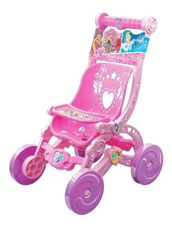 Carrinho De Boneca Infantil Princesas Disney 2390 Líder