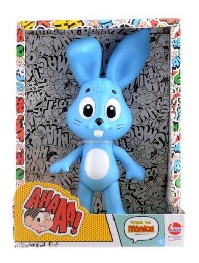 Coelho Sansão Da Mônica Vinil 30 Cm 0654 Líder Brinquedos
