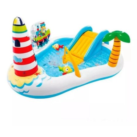 Piscina Playground Pescaria Divertida 182L 57162 Intex