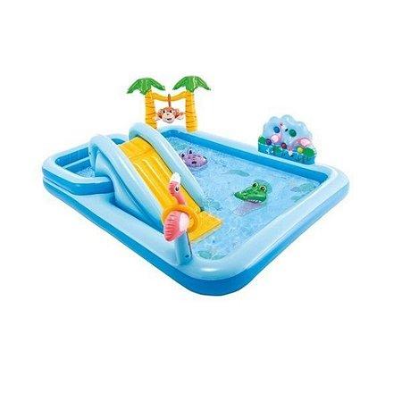 Piscina Playground Aventura Na Floresta 493l 57161 Intex