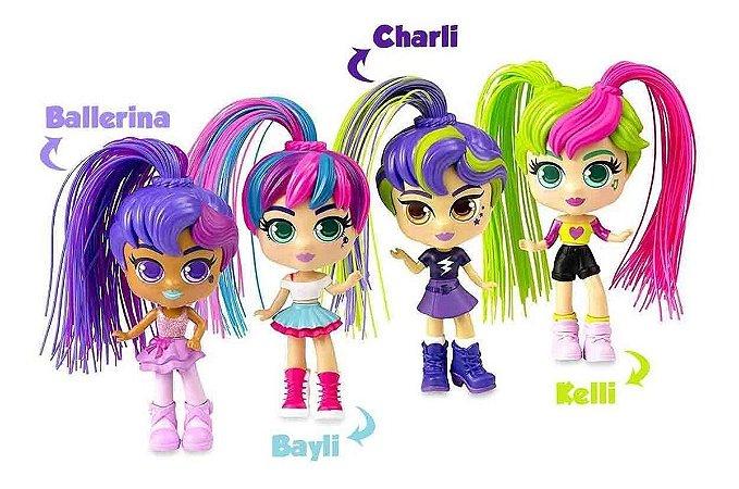 Boneca Curli Girls Colecionável SORTIDO 1067 Rosita