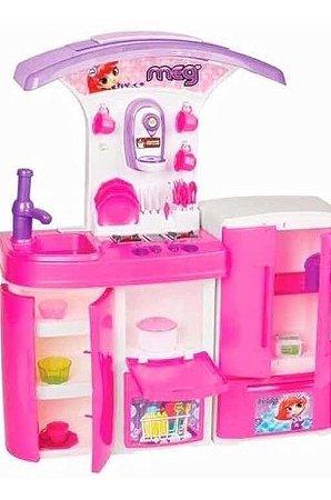 Cozinha Meg Infantil Versátil 8031 magic Toys