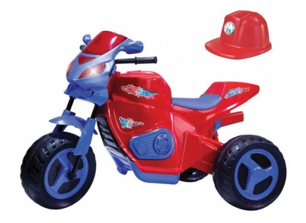 Mini Moto Elétrica Max Turbo 6v Vermelha 1130 Magic Toys