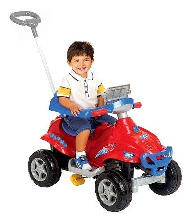 Carrinho Spider Quadri Toys Vermelho 9400 Magic Toys