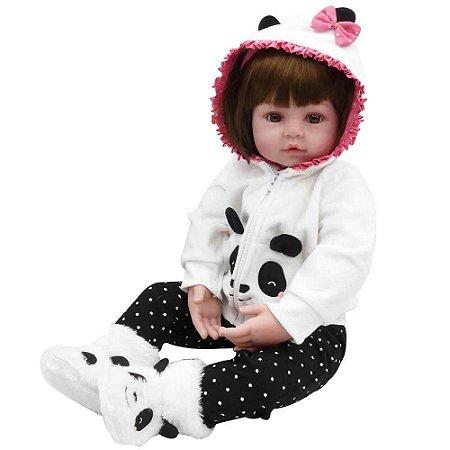 Boneca Bebe Reborn Laura Baby Babi Nan Shiny Toys