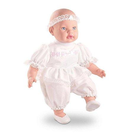 Boneca 40cm Minha Primeira Oração 0129 Milk Brinquedos