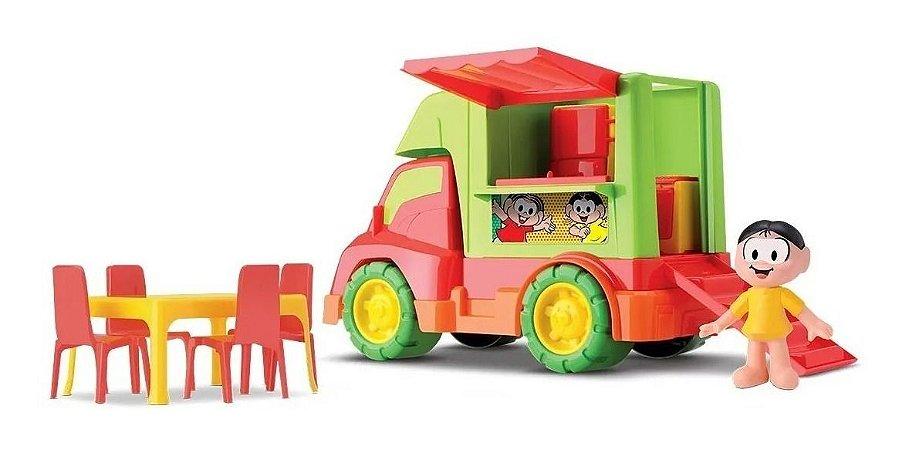Food Truck Infantil Turma Da Mônica 1107 Samba Toys