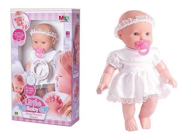 Boneca Minha Primeira Oração 0151 Milk Brinquedos