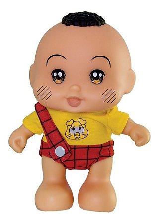 Boneco Cascão Baby Turma Da Monica C/ Frases 0415 Adijomar
