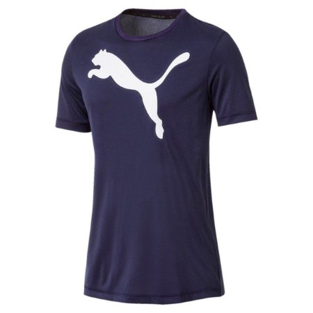 Camiseta Active Masculina Azul Escuro Puma