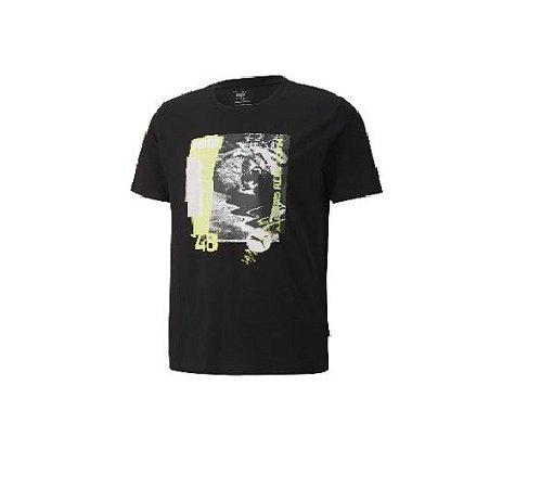 Camiseta Masculina Mc Photo Tee Puma