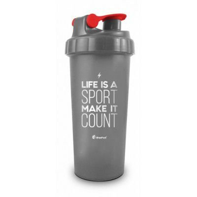 Coqueteleira Frases Life Is A Sport 10280 Brasfoot