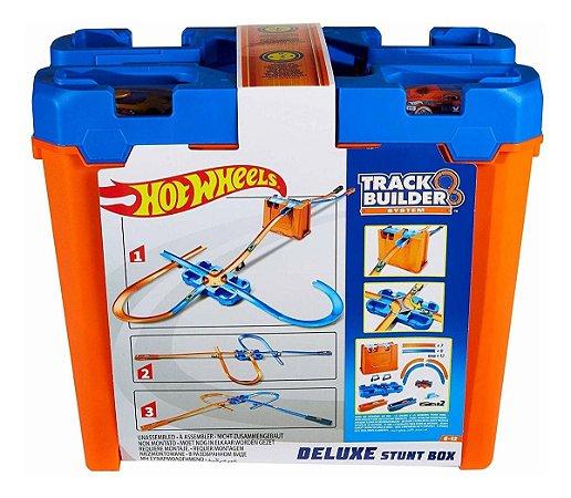 Brinquedo Hot Wheels Caixa De Manobras Deluxe Ggp93 Mattel
