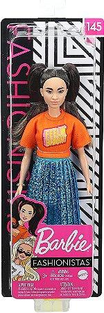 Barbie Fashionistas 145 Saia Azul Brilhante Mattel