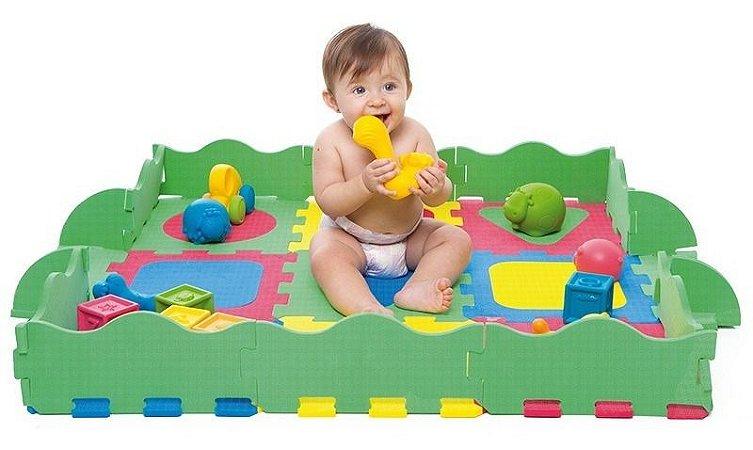 Tapete De Atividades Infantil 36 Peças Colorido Toyster