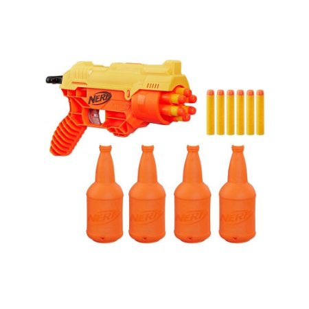 Lançador Nerf Alpha Strike Cobra Com Alvos 39534 Hasbro