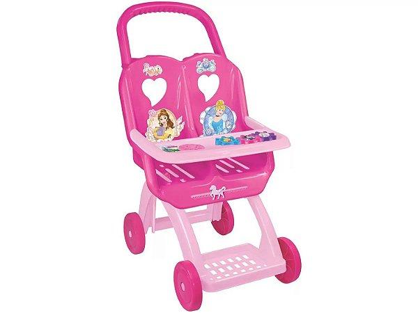 Carrinho de Boneca Princesas 2391 Líder
