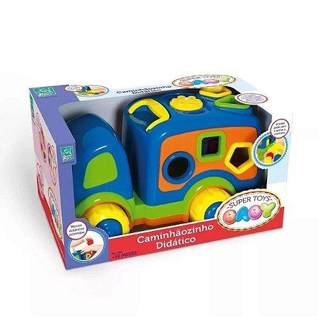 Caminhãozinho Baby Didático SORTIDO 2850 Super Toys