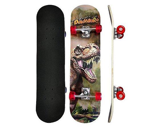 Skate Infantil Suporta até 50Kg Estampado DMR6056 DM Radical