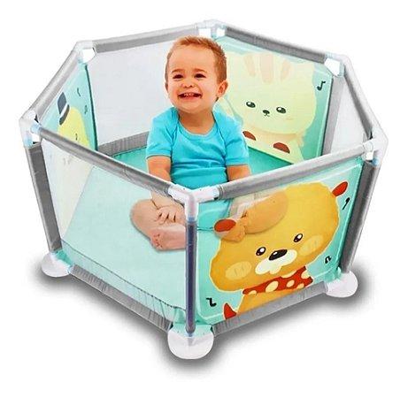 Cercadinho Berço Bebê - Baby Criança Portátil