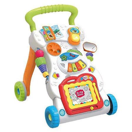 Andador Musical Multiatividades Baby +12M 5794 Guta Guti